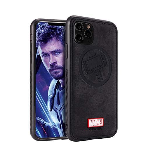 Schutzhülle für iPhone 11 Pro Max mit Avengers-Figur, Thor, Schwarz