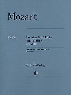 Sonatas for Piano and Violin Vol. 3 - piano and violin - (HN 79)