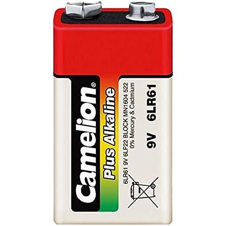 Camelion 11100122 Plus Alkaline Batterien 6lf22 9 Volt Elektronik