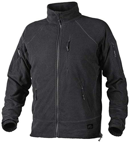 Helikon-Tex Alpha Tactical Jacket - Grid Fleece Shadow GRAU XL/Regular