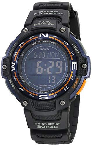 Casio SGW-100-2BCF Reloj para Unisex Adulto, Negro