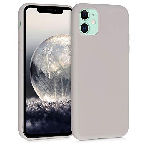 kwmobile Hülle kompatibel mit Apple iPhone 11 - Handyhülle - Handy Hülle in Creme matt