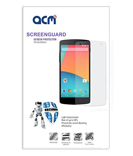 ACM Matte Screen Guard Compatible with Xolo A800 Mobile Scratch Proof Screenguard