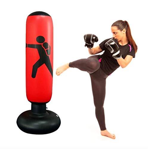 Ponsen Tas, Punch Bag Opblaasbare Boxing Staande Bokszak Fitness Target Stand Tower Bag MMA Kick Training Tumbler Bop Bag Drukvrij