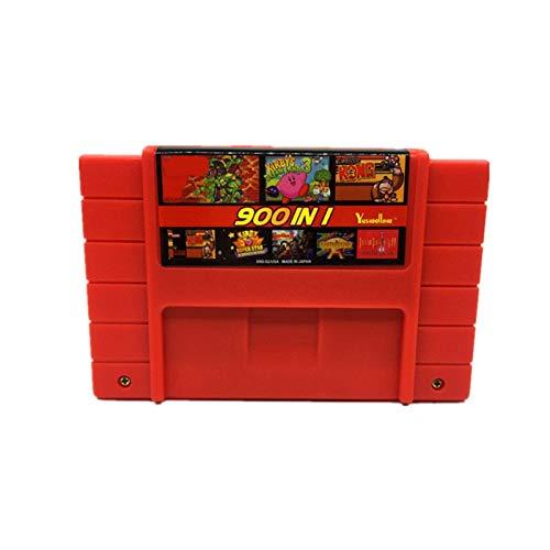 Red plum GAOHEREN DIY 900 EN 1 Tarjeta DE Juego Super China Remix Ajuste para EL CARTURIDAD DE Juegos DE Juego DE 16 bit APORTAMIENTO DE CARTUCHITOR DE Todos LOS EEUU/EUR/Japan GHR (Color : USA)