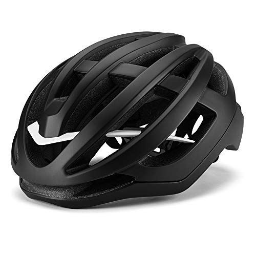 CHENGGUOFENG Casco de Bicicleta Sistema Giratorio Ajustable de 360 ° 18 respiraderos Seguridad Deportiva Equipo de equitación for Exteriores (Color : Negro, Size : L)