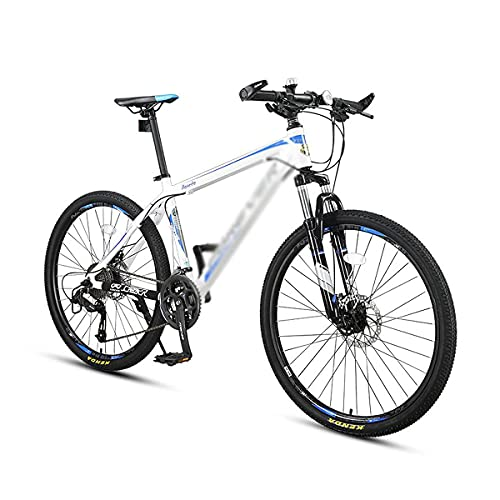 Bicicleta de montaña con Ruedas de 26 Pulgadas Bicicleta de montaña de 24/27 velocidades con Doble suspensión MTB para Hombres, Mujeres, Adultos y Adolescentes (tamaño: 24 velocidades, Color: Rojo)