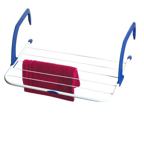 AXENTIA Heizkörper-Wäschetrockner 3 Meter verstellbar (Zufällige Farbe)