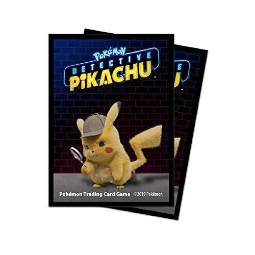 Pokémon E-15201 Ultra Pro-Detective Deck-Schutzfolien für Decks, 65 Stück