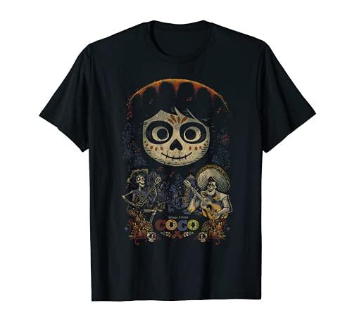 Disney Pixar Coco Miguel & Musical Scene Camiseta