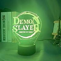 ロゴ銘板3D LEDナイトライトクリエイティブホームデコレーション3Dビジョン3Dビジュアル照明7色変更USB充電テーブルランプ誕生日プレゼントエンターテイメント装飾ギフト子供のおもちゃ [並行輸入品]
