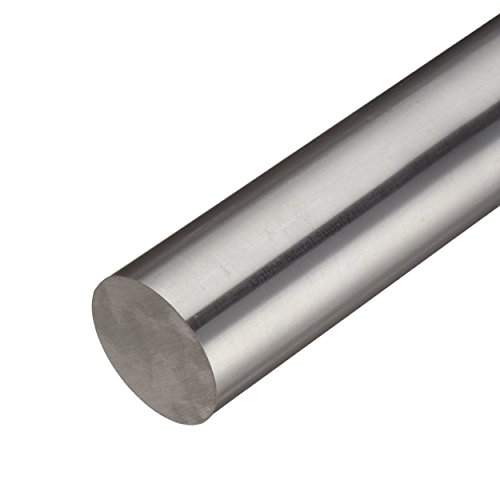Online Metal Supply Inconel 718 Nickel Round Rod, Diameter: 1.750 (1-3/4 inch), Length: 12 inches