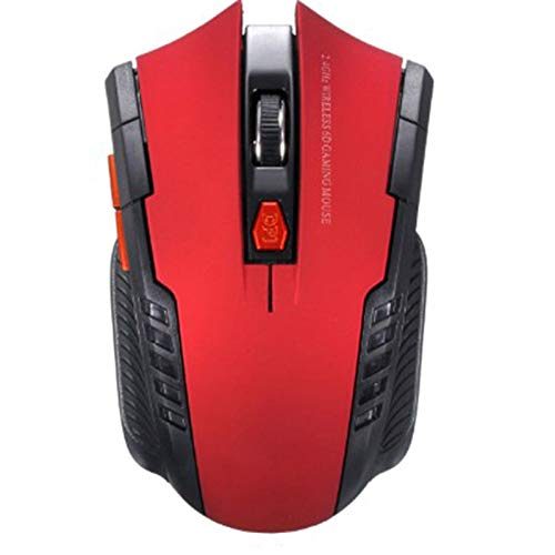 2.4g Wireless Mouse Optical Mouse with USB Receiver, Suitable for Laptop, Desktop Computer