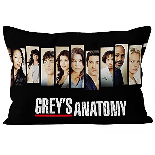 DC&HN Home Throw cushion covers 18X18 Fashion Modern greys anatomy Pattern...