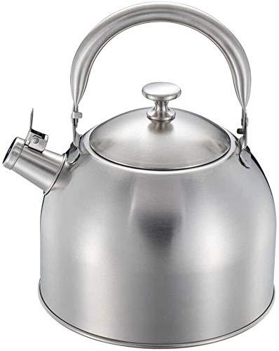 Cuisine bouilloire gaz 304 Stove Top Whistling Tea Kettlefor Tous Stovetop avec poignée ergonomique Accueil 3.5L Whistling thé Bouilloire UOMUN