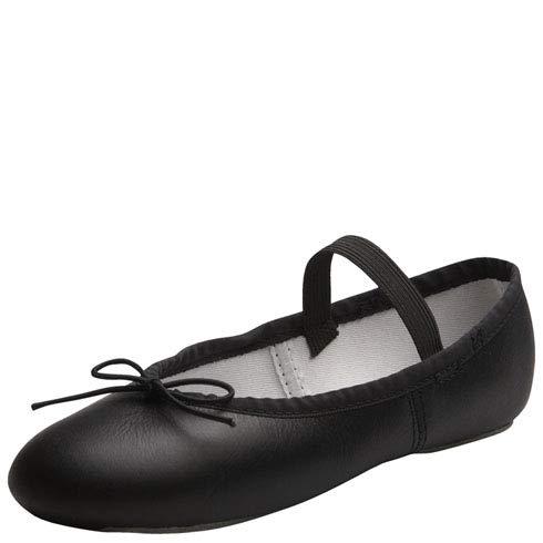 Spotlights Girls Black Ballet Shoe 4 M US