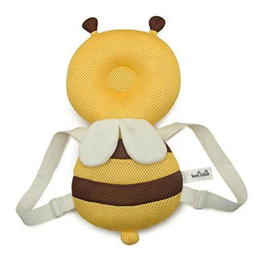 Protección de espalda de almohada para bebés y niños pequeños en 2 diseños diferentes - para niños pequeños y bebés - perfecto para gatear y aprender a caminar (Style 1)