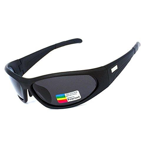 HONCENMAX Gafas de Sol Deportivas Polarizadas Protección UV400 para Hombres Mujeres Ciclismo Equitación Corriendo Pescar Gafas de Golf