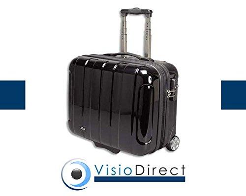 Pilot case en polycarbonate et Abs rigide vernis Noir housse pour portable détachable