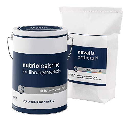 navalis orthosal Kombi Horse Selen - Ergänzungsfuttermittel mit erhöhtem Selengehalt für Pferde, Option:2.5 kg Nachfüllpackung