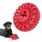 Lewondr Juguete Resistente a Mordedura para Perros con Diseño de Neumático, Cepillo Dientes...