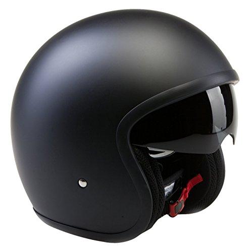 Viper Helmets Motorradhelm Rsv06, Matt Black, 59-60 cm