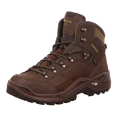 LOWA Herren RENEGADE GTX MID W Ankle Boot, Braun, 44.5 EU