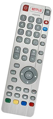 ALLIMITY SHW-RMC-0116 SHW-RMC-0117 Afstandsbediening Vervangen voor Sharp Aquos HD 3D Smart TV with Netflix Youtube NET+
