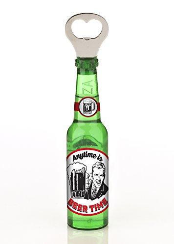 """Boxer Bier-Flaschenöffner, Aufschrift """"Anytime is Beer Time"""""""
