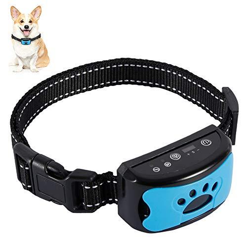 FullLove Antibell Vibrationshalsband für Hunde Wiederaufladbar und Wasserdicht