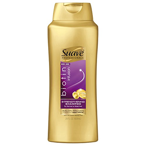 Suave Professionals Strengthening Shampoo, Biotin Infusion, 28 oz