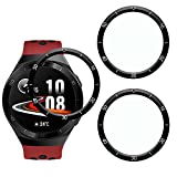 KELOLIN Screen Protector for HUAWEI Watch GT 2e, Easy to Install [3 Pack] 3D Curved Edge Anti-Scratch Anti-Fingerprint HD Ultra Shatterproof Flexible Protector Compatible with HUAWEI Watch GT 2e