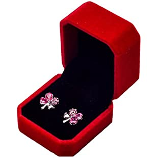 Sukisuki Necklace Ring Earrings Storage Box Jewelry Holder Jewellery Gift Box