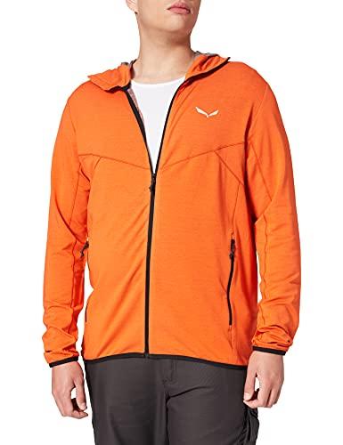 SALEWA Herren LIGHT MICRO PL M Fz Hdy Hooded Jacke, Orange, S/46