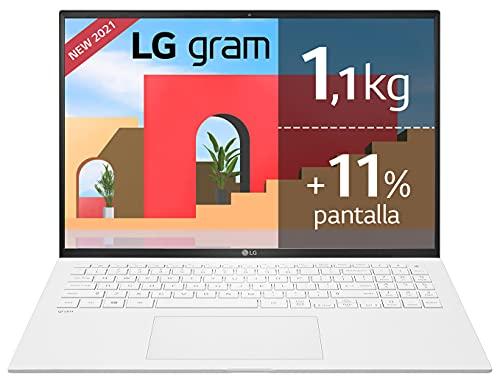 LG gram 16Z90P Windows 10 Home, Ultraligero de 40.6 cm (16