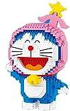 Mini Diamond Blocks Bricks Building Toy Doraemon Modelo para Regalo De Niños,B