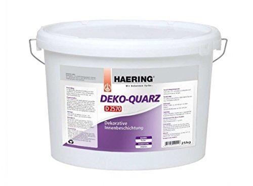 Haering Streichputz Deko-Quarz Innenputz (Fein 15 kg)