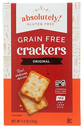 Absolutely Gluten Free Crackers, Original 4.4-Ounce