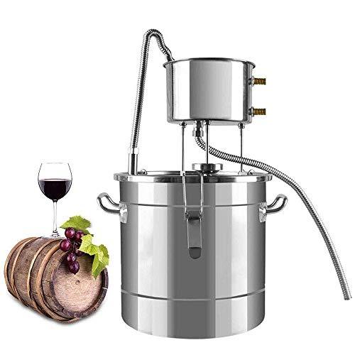 Home Pequeño Soju Wine Steamer Equipo De Vinificación Familia Destilador De Acero Inoxidable Máquina Tostadora Vino Blanco Pure Dew Machine Brewer