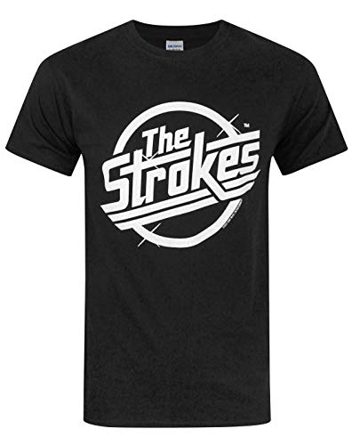 Official The Strokes Logo Men's T-Shirt