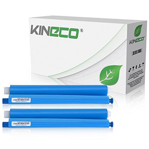 2 Thermorollen kompatibel zu Panasonic KX-FA52X für Panasonic KX-FC225, FC228, FC275, FP205, FP207, FP215, FP210 Series - Schwarz je 100 Seiten