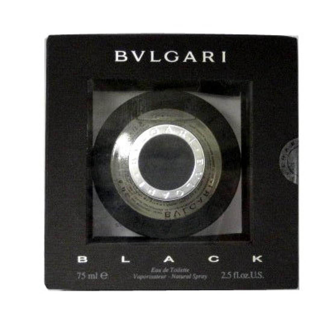 エスカレーターケーブルカー欠かせないブルガリ BVLGARI ブラック EDT SP 75ml