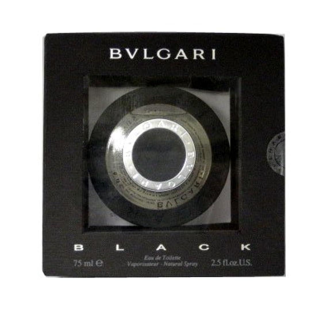 異常な休日まもなくブルガリ BVLGARI ブラック EDT SP 75ml [並行輸入品]