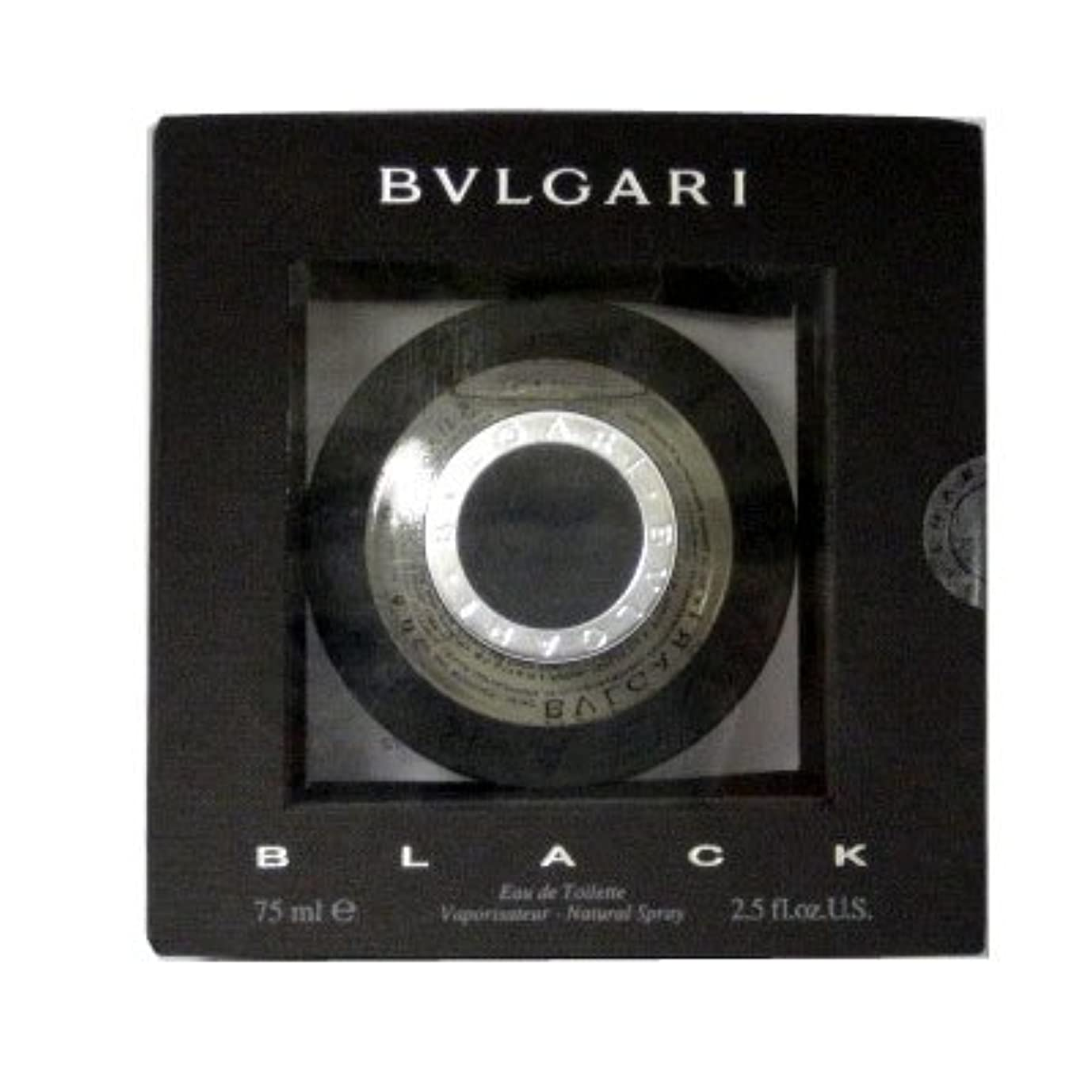 信頼性のある攻撃的救援ブルガリ BVLGARI ブラック EDT SP 75ml