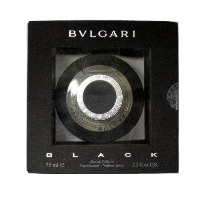 プログレッシブ止まる遮るブルガリ BVLGARI ブラック EDT SP 75ml