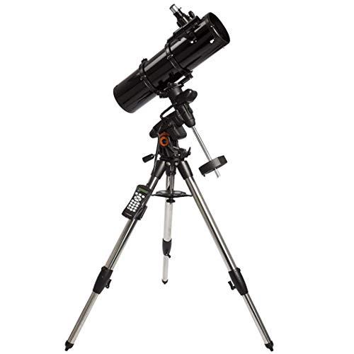 GGPUS Búsqueda automática de Estrellas computarizada, telescopio Refractor telescopio, película Verde Multicapa con Montura ecuatorial, Longitud Focal 750 mm, máx. 354 Veces