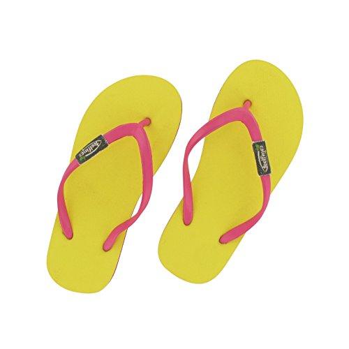 Feelfine'z: Canaria Kids, gelb – pink, 33/34