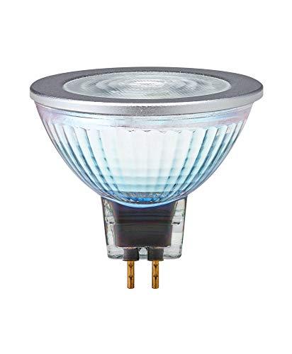 OSRAM SUPERSTAR MR16 12 V Bombilla LED reflectora, Casquillo GU5.3, 2700 K, 8W, Equivalente a 50W, Blanco cálido, Un solo paquete