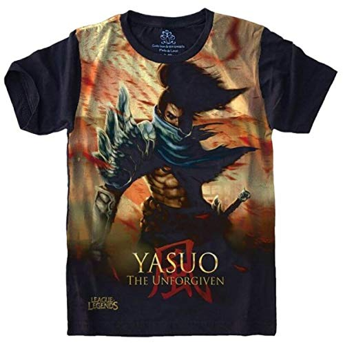 Camiseta League Of Legends LOL Yasuo