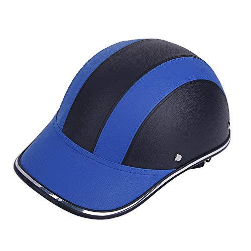 Casco Medio Abierto para Motocicleta, diseño de Gorra de béisbol para Bicicleta,...
